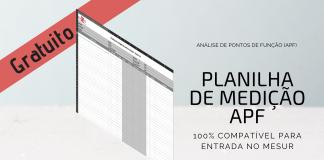 Planilha de APF